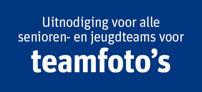 Teamfoto's seizoen 2017-2018